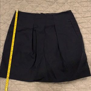 J.Crew Dark Navy Mini Skirt Size 0